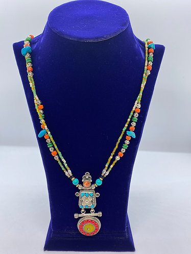 Handmade Multistrand Bohemian Necklace