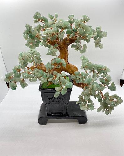 Aventurine Prosperity Bonsai Tree