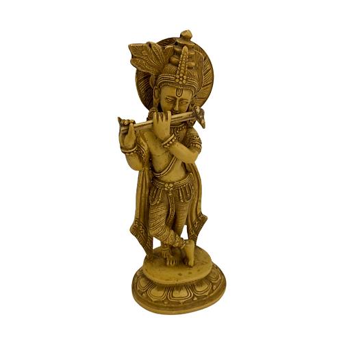Krishna Statue/Lord Krishna Altar Idol/Handmade/Hare Krishna/God Of Love/