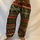 Thumbnail: Handmade Multiprint Wool Pant from Nepal, Wool Pant
