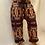 Thumbnail: Handmade Paisley Wool Pants, Non Itchy Wool Pants for Winter