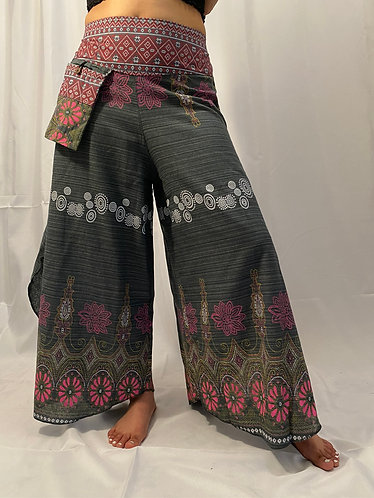 Cotton  Plazzo Pant with Hand Embroidery