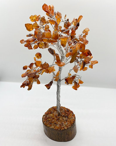 Carnelian Prosperity Bonsai Tree