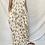 Thumbnail: Floral Print Maxi Bohemian Dress
