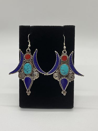 Exotic Nepali Earring