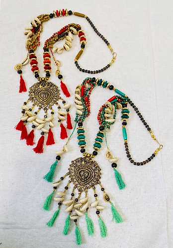 Bohemian Necklace,Chunky Necklaces