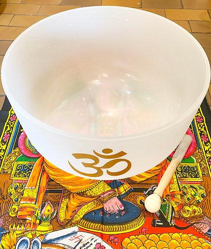 "20"" Diameter Chakra Crystal Singing Bowl"