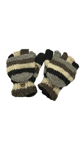 Wool Gloves/Sherpa Woolen Gloves/Mittens/Fleece Lined Gloves/Hand Knit
