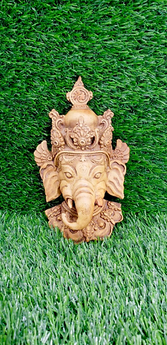 Ganesh Wall Hanging/Ganesha  Mask/ Ganesh Wall Decor/Handmade Ganesh Mask