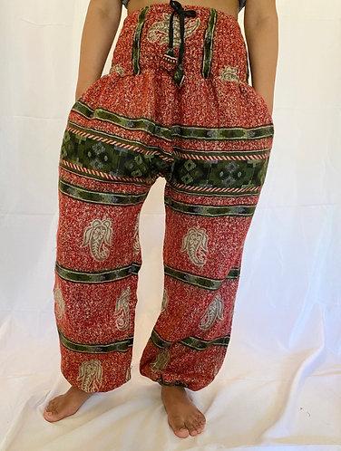 Handmade Paisley Wool Pant