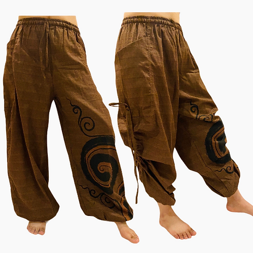 Unisex  Organic Cotton Pant with Spiral Pants
