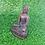 Thumbnail: Handmade Blessing Buddha Statue from Nepal, Small Buddha Statue, Multicolor Tibe