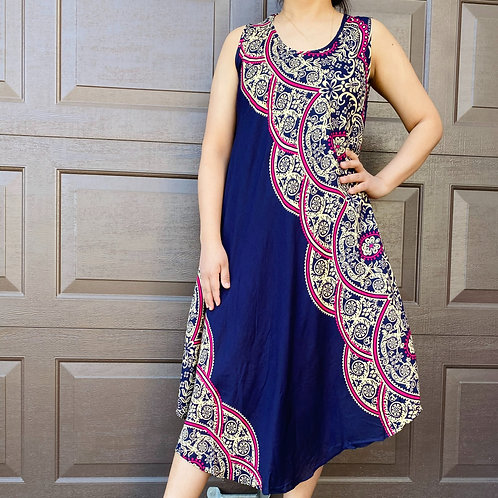 Tunic Summer Dress, Maxi Dress