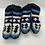 Thumbnail: Hand Knit Kids/ Child Winter Fleece LinedSlippers,Sherpa WoolKids Socks,Kids Ind