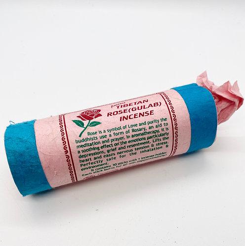 Tibetan Rose (Gulab) Incense