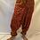 Thumbnail: Handmade Multiprint Wool Harem Pants