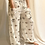 Thumbnail: Flowy Yoga Pants with Pocket, Floral Print High waisted Pants