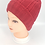 Thumbnail: Handknit Solid Fleece Lined  Beanie Hat,Winter Hats,Hats with Double Lining, Acr