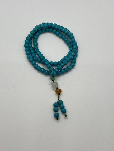 6mm Turquoise Mala beads