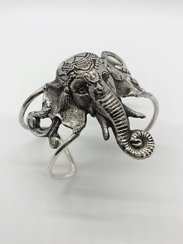 Wide Cuff Handmade Ganesh Bracelet