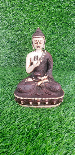 Handmade Blessing Buddha Statue from Nepal, Buddha Statue,  Blessing Buddha, Bud
