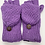Thumbnail: Hand Knitted 100% Merino Wool Fleece Lined Nepalese Winter Gloves/ Mittens, Wint