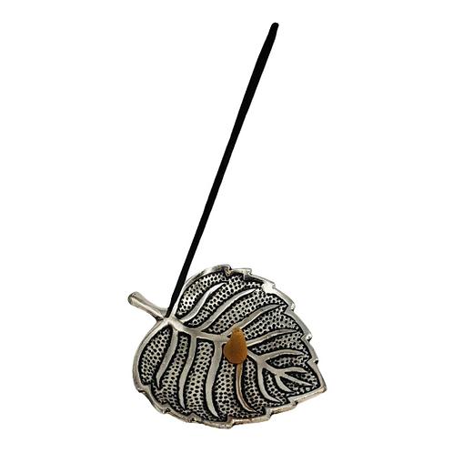 Leaf Style Metal Incense Burner