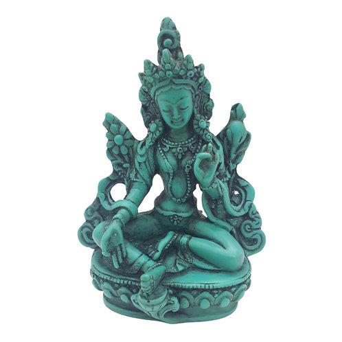 Tibetan Green Tara Resin State