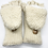 Thumbnail: Hand Knitted 100% Merino Wool Fleece Lined Nepalese Winter Gloves/ Mittens