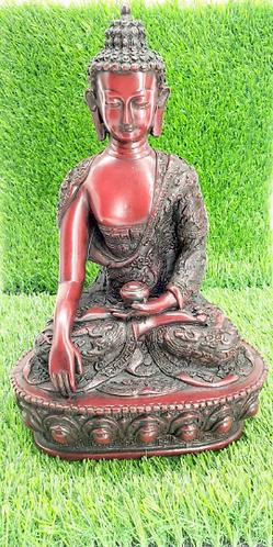 """13"""" Healing Buddha Statue Handmade from Nepal/Buddha Statue/Medicine Buddha Stat"""