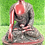"""Thumbnail: 13"""" Healing Buddha Statue Handmade from Nepal/Buddha Statue/Medicine Buddha Stat"""