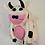 Thumbnail: Handmade Felt Animal Back Pack from Nepal, Kids Back Pack, Cow,Panda Back pack,