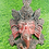 """Thumbnail: 8"""" Ganesh Wall Hanging, Ganesha Mask, Ganesh Wall Decor, Handmade Ganesh Mask fr"""