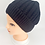 Thumbnail: Hand Knit Solid Fleece Lined Acrylic Hat, Winter Unisexual Hats, Hats with Doubl