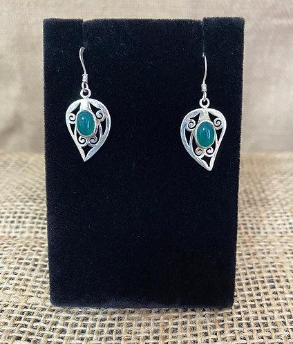 Leaf Silver Earring