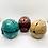 Thumbnail: Handmade Resin Casting Human Skull Storage Box,Handpaint Tibetan Buddhism kapala