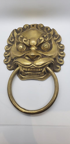 Brass Lion Design Door Knocker/Home Decor