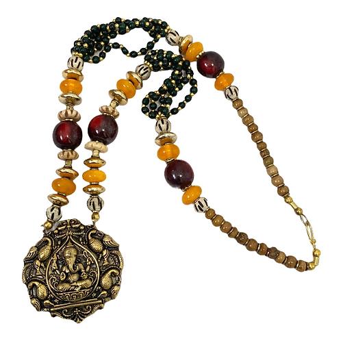 Ganesh Beaded Necklace