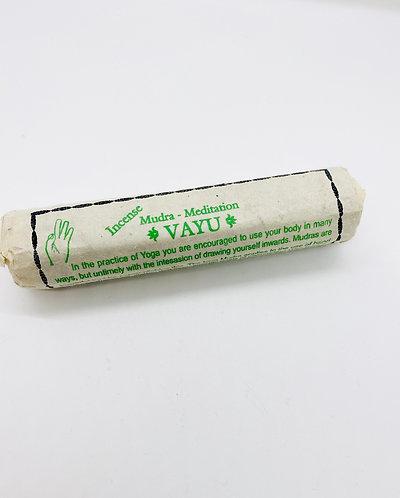 Vayu Mudra - Meditation  Handmade Incense from Nepal