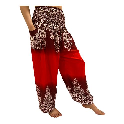 Harem Pants with Pockets, Aladdin Pants