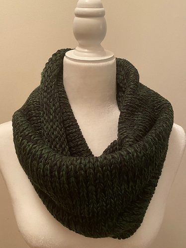 Hand Knit Winter Infinity Scarves, Warm Winter Scarves, Nonitchy Scarves, Winter