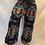 Thumbnail: Handmade Geometric Wool Pant