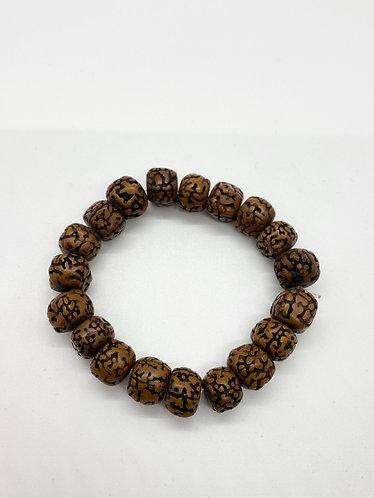 Handmade Bodhi Seeds Prayer Beads Bracelet