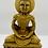"Thumbnail: 8"" Handmade Skeleton Dhyani Buddha Statue,Deep Meditating Buddha , Buddha Statue"