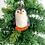 Thumbnail: Handmade Felt Christmas Ornaments from Nepal, Felt Animal Ornaments, Christmas D