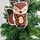 Thumbnail: Handmade Christmas Ornamnets, Squirrel Beaded Ornaments, Dolphin Beaded Ornament