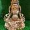 Thumbnail: Handmade 24k Gold Plated Kubera, Tibetan Buddhist God of Wealth, Gold Plated God