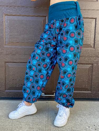 Boho Hippie Harem Cotton Pants