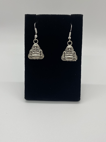 Happy Buddha Earring