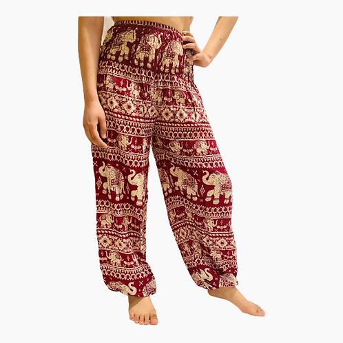 Elephant Print Women Harem Pants, Yoga pant